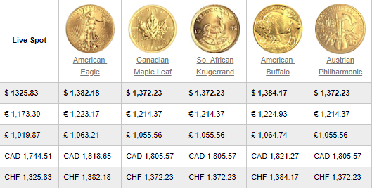 what is USA Gold