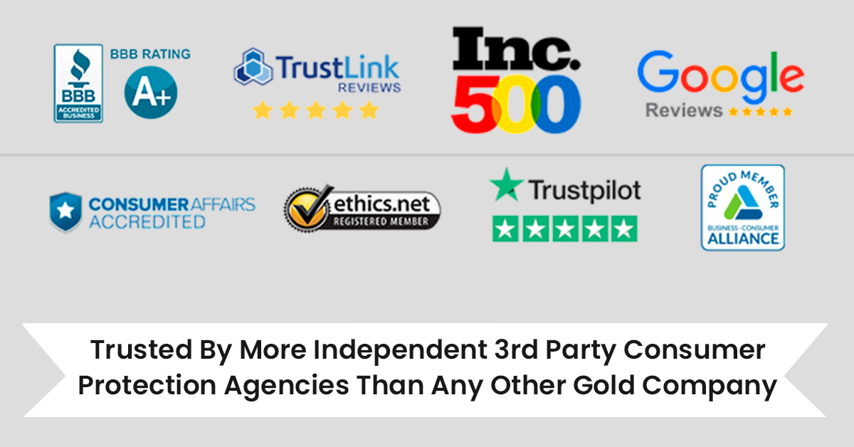 best rated gold ira company