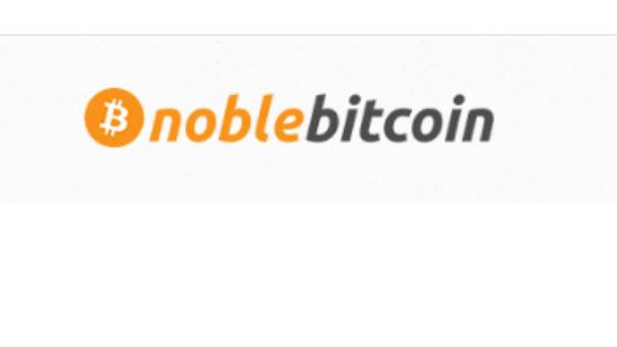 noble bitcoin logo