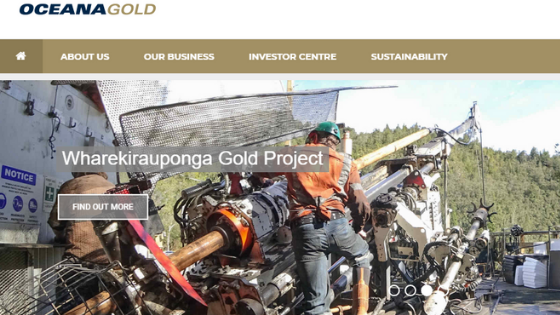What is Oceana Gold Corporation