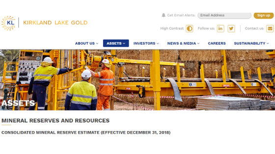 What is Kirkland Lake Gold