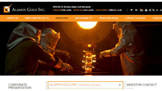 What is Alamos Gold Inc