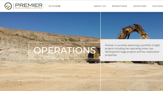 What is Premier Gold Mines Limited
